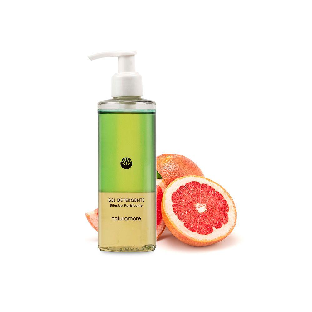 Detergente Bifasico Gel   Naturamore: Cosmetici Naturali