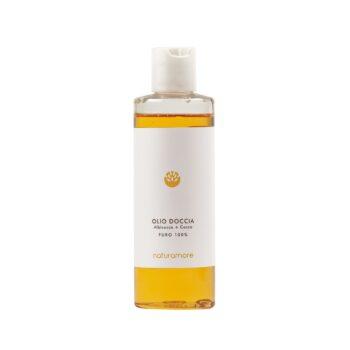 Olio doccia Albicocca e Cocco   Naturamore: cosmetici naturali