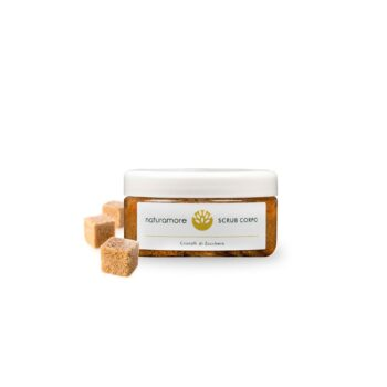 Scrub con Cristalli di Zucchero di Canna | Naturamore: cosmetici naturali